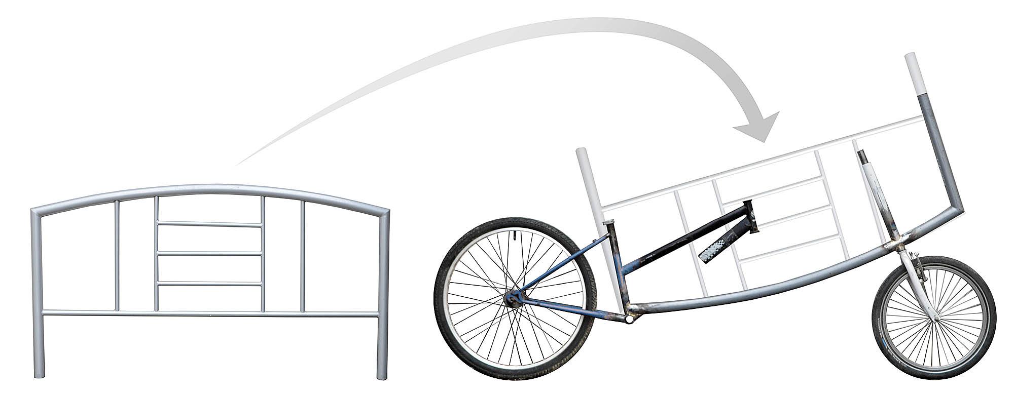 Lastenrad-Rahmen